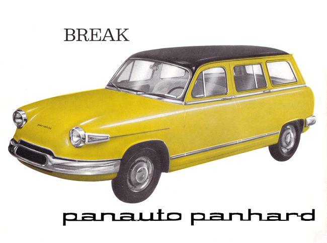 124 - Panhard PL 17 Break 1964  Panharddyz18