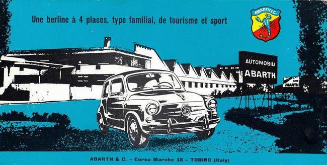 Auto, Moto – Pièces, Accessoires Abarth Signe En Aluminium Coulé Publicité Vintage Vitesse Fiat 500 Simca Lancia